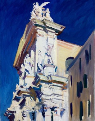 Chiesa dei Gesuiti ~ Oil on canvas, 90x70cm. Venice, Italy