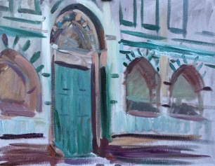 Santa Maria Novella ~ Oil on canvas, 70x90cm. Florence, Italy