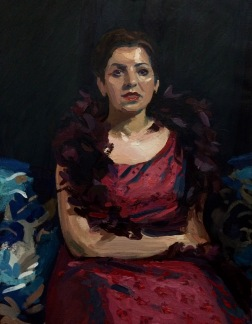 Monica Shenouda, 90x70cm.