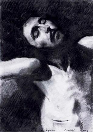 After Painting by Ribera ~ 70x50cm. Prado Museum. Madrid, Spain