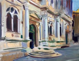 Scuola Grande di San Rocco. 70x90cm. Venice, Italy