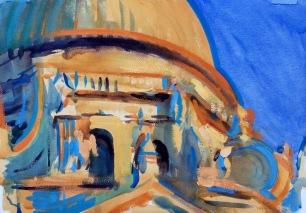 Santa Maria della Salute in Last Light ~ 36x51cm. Venice, Italy