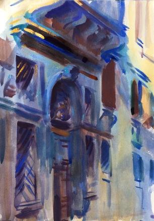 Palazzo Mocenigo ~ 51x36cm. Venice, Italy