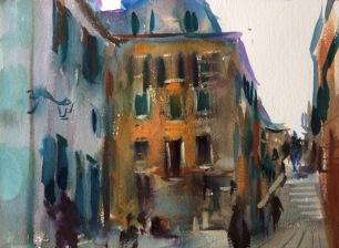 San Giacomo da L'Orio ~ 31x41cm. Venice, Italy