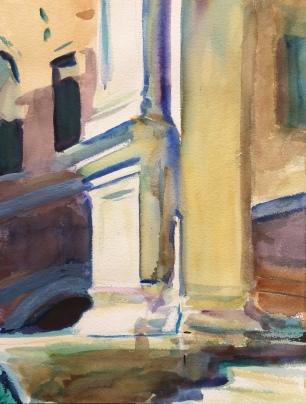 San Rocco ~ 41x31cm. Venice, Italy