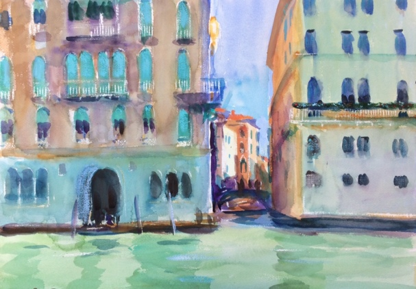 The Grand Canal. 36x51cm. Venice, Italy