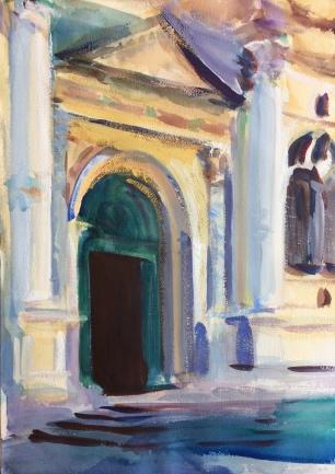San Rocco ~ 51X36cm. Venice, Italy