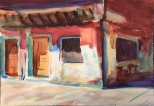 Old House in Last Summer Light ~ 36x51cm. Venice, Italy