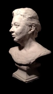 Portrait of the Artist's Mother. Life-size. Plaster cast from clay original