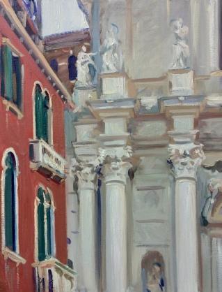 I gesuiti. 90x70cm. Venice, Italy